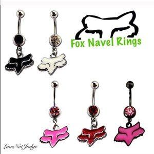 Fox Jewelry Sale Racing Brand Belly Button Rings Diamond Poshmark